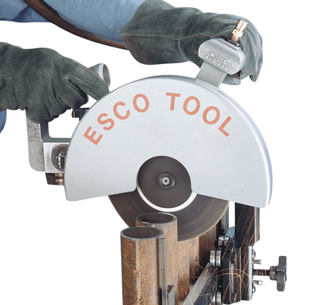 ESCO Tool Heat Exchanger Tube Removal Air Powered Saw